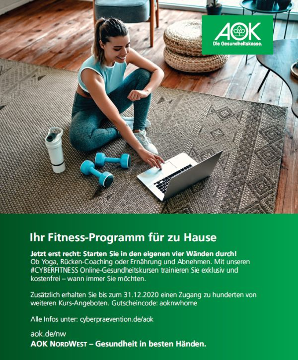 AOK-Fitness-Angebot